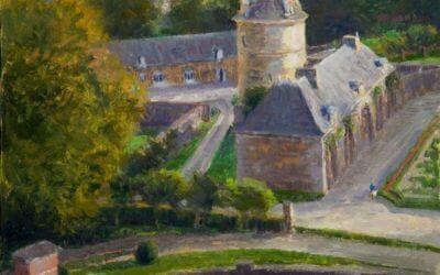Roof Top Vista: Chateau de Balleroy