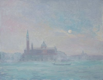 Venice Moonrise by Curt Walters