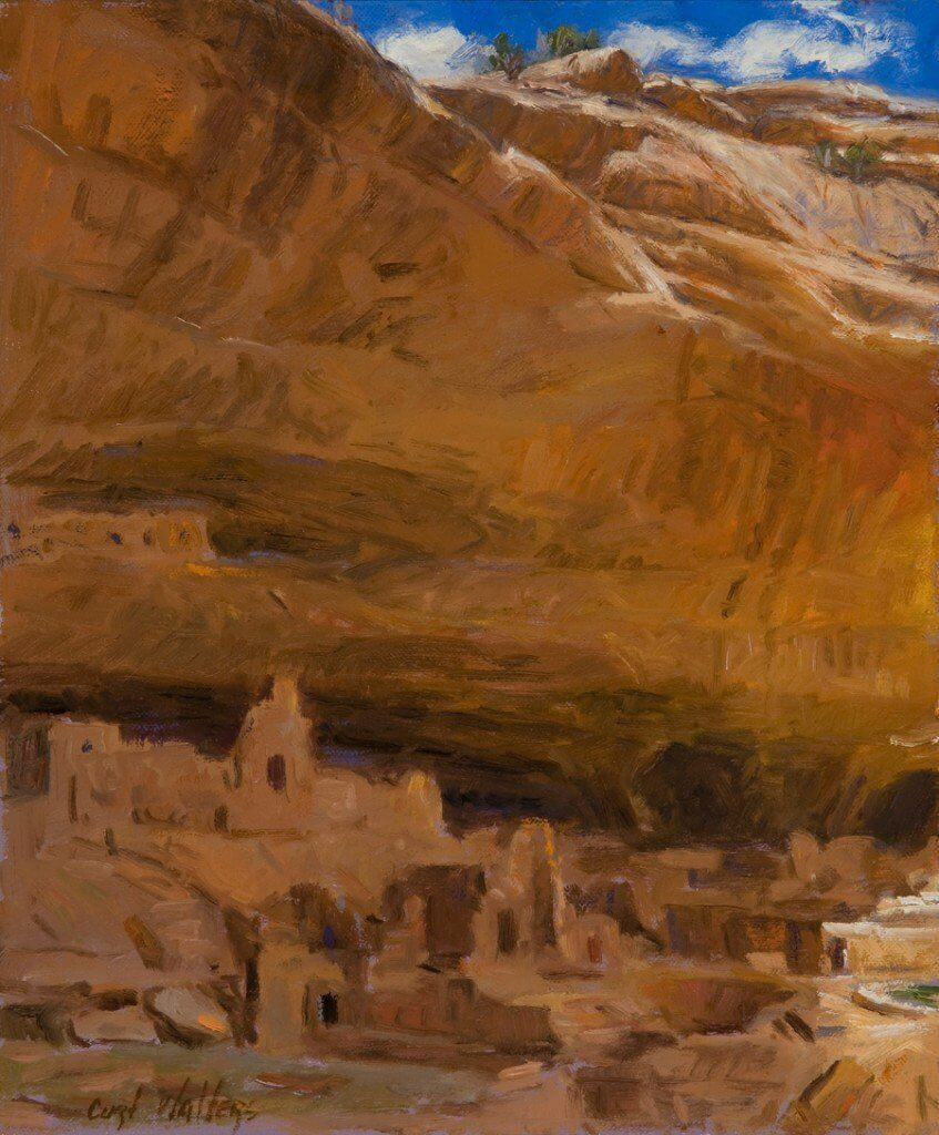 Afternoon Shade- Long House, Mesa Verde