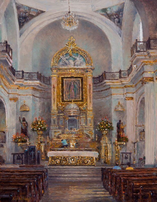 Gilding the Altar