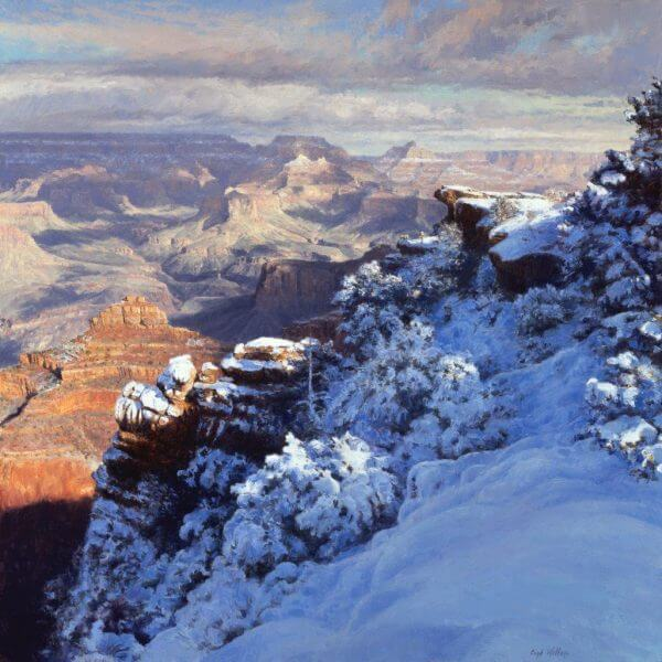 Winter at Mather Point by Curt Walters