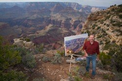 publicrelations_rotatingimages_curt-painting-at-grand-canyon