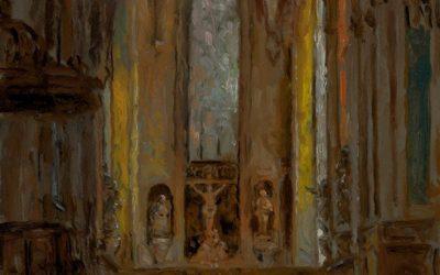 Altar, Abbey of Mondaye