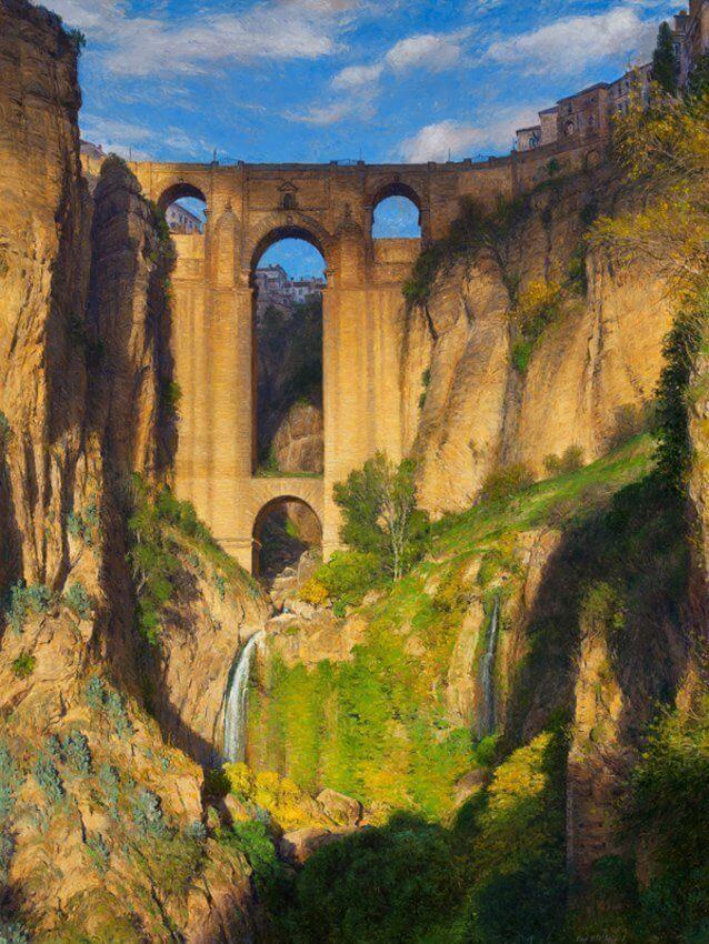The Puente Nuevo and Rio Guadalevin