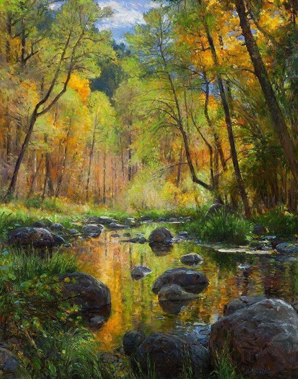 November Color: Oak Creek Canyon