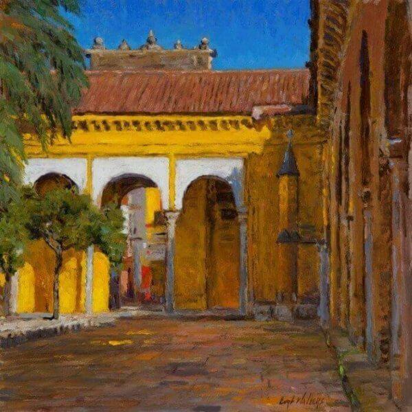 Mezquita Courtyard: Cordoba