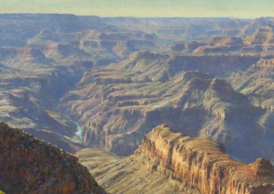 SPRINGS SUBTLE INTONATION by Master Grand Canyon Artist Curt Walters