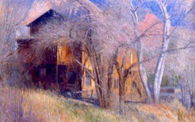 Art Barn in Winter, Sedona
