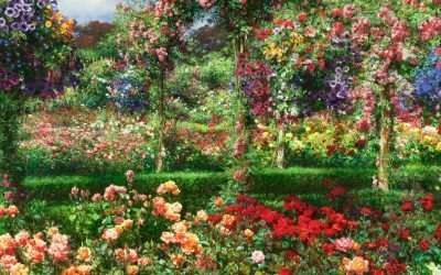 Colors of Butchart Gardens