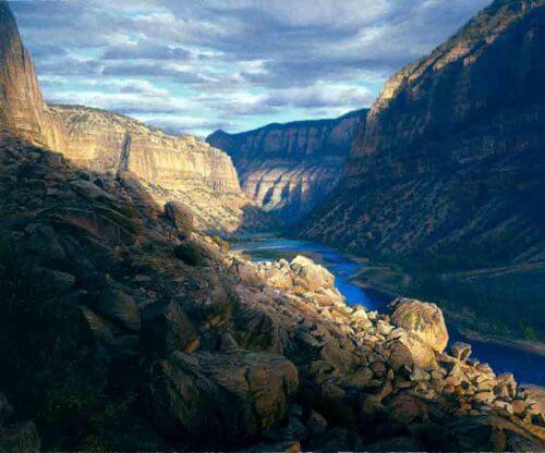 Split Mountain Canyon