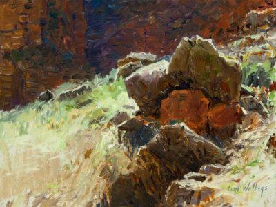 Hillside Boulders at Nakoweap