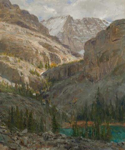 Alpine Shadows: Oesa Trail by Curt Walters